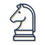 LPB Conseil - Illustration stratégie bleu et or