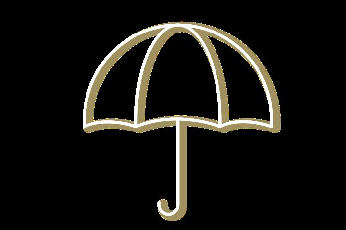 Umbrella blanc